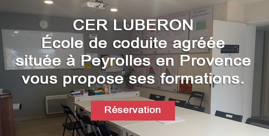 CER LUBÉRON - École de conduite